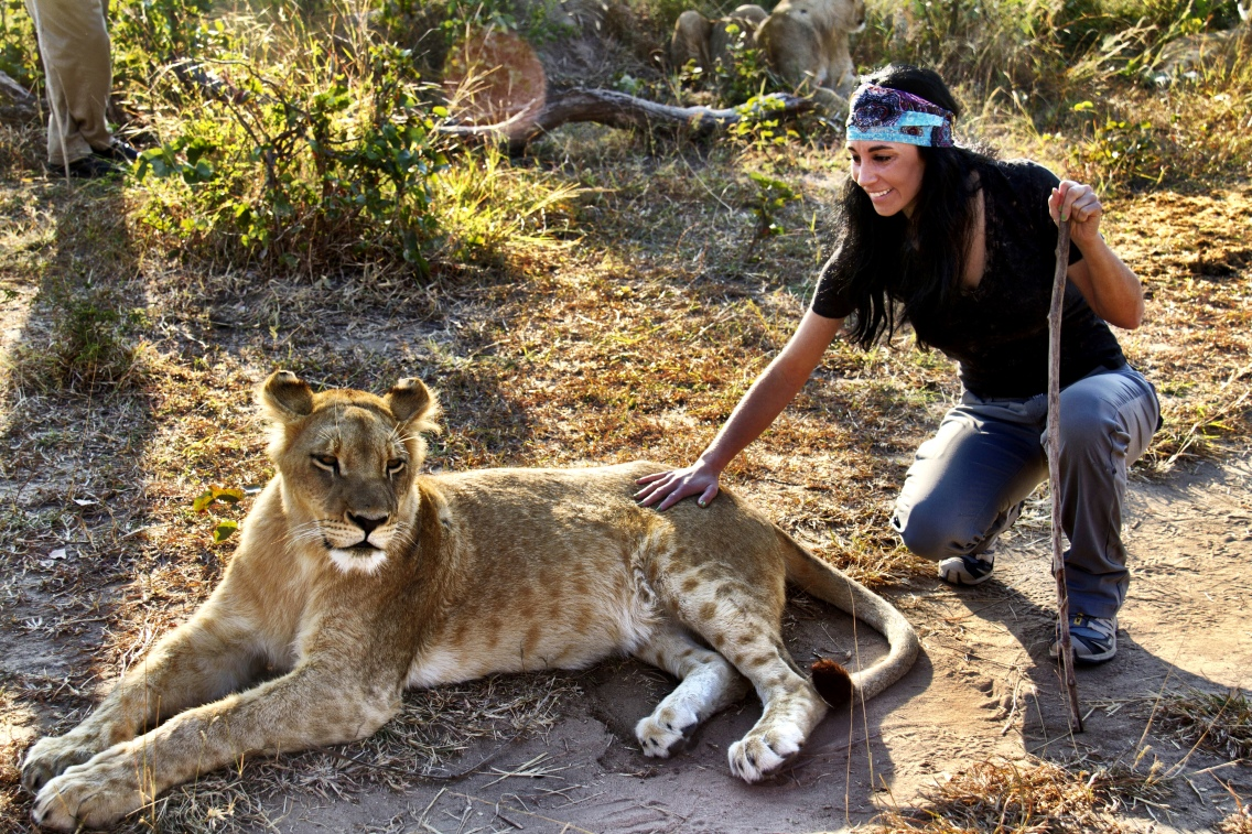 Me With Lion